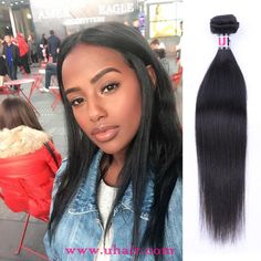Malaysia Virgin Hair Straight Human Hair Weave 3 Bundles With Malaysia Straight Hair Lace Closure Uhair Products Straight Weave Hairstyles, Look Younger, Lace Closure, Lace Frontal, 100 Human Hair, Brazilian Hair, Human Hair Extensions, Virgin Hair, Hair Styles