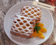 Waffles, Food And Drink, Bread, Drinks, Breakfast, Sweet, Juice, Recipes, Kitchen