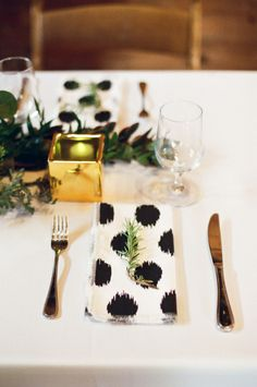Patterned Wedding Details That Wow - Style Me Pretty