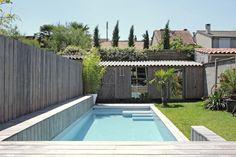 Rénovation d'une maison au Bouscat, dans la banlieue Bordelaise.