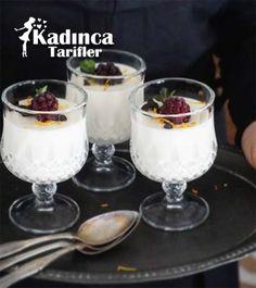 Damla Sakızlı Muhallebi Tarifi, Nasıl Yapılır? - Kadınca Tarifler Tiramisu, Tart, Deserts, Pudding, Cooking, Food, Essen, Kitchen, Pie
