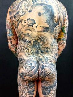 Hannya-Mask-tattoo+(4).jpg (450×600)