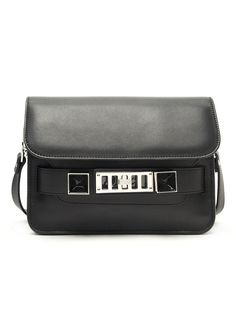 PROENZA SCHOULER PS11 MINI CLASSIC SMOOTH CALF BLACK BAG  H00007-C039M-0000  #PROENZASCHOULERPS11 #ShoulderBag
