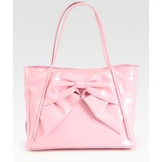 Valentino Lacca Betty Bow Tote Bag ($1,095) ❤ liked on Polyvore