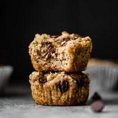 Vegan Paleo Banana Muffins with Chocolate Chips | Ambitious Kitchen