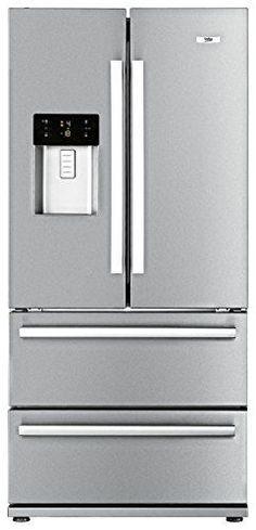 Beko GNE 60520 DX Side By Side / A+ / Kühlen: 383 L / Gefrieren: 149 L /  Edelstahl Fingerprint Free / No Frost / Wasser  Und Eiswürfelspender /  French Door ...