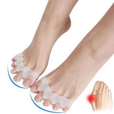 Say goodbye to your bunions.Our bunion corrector is the easy, pain-free way to correct your bunions Bunion Relief, Pain Relief, Gel Toe Separators, Diy Beauty Treatments, Hammer Toe, Posture Corrector, How To Speak French, Foot Pain, Silicone Gel