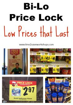 Bi-Lo Price Lock - Low Prices that Last #BiLO #coupons