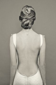 low back and delicate lace edges by Katie May