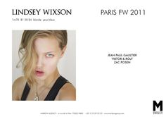 lindsey wixson comp card