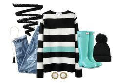 Hilary by karrinaaaa on Polyvore featuring polyvore, fashion, style, J.Crew, Hunter, Kendra Scott, Charlotte Russe, Forever 21 and clothing