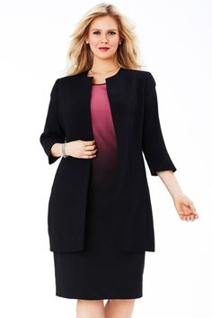 Professional coat for my curvy working girls :) - MYNT1792 Cocoon Coat