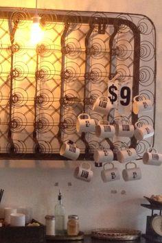 Merch display at Urban Bean Coffee Minneapolis.