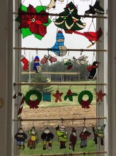 BELL ISLAND STAINED GLASS COMPANY Glass Company, Newfoundland, Folk Art, Advent Calendar, Stained Glass, Island, Holiday Decor, How To Make, Fun
