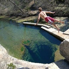 Jacob's well in Wimberly, TX