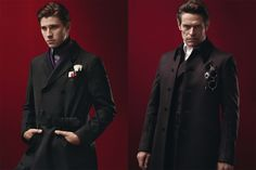 """Prada Goes """"Steampunk"""" For Fall      *drool* I want those coats. Want.  And I also really really like the high-close coats and vests... very dapper. :)"""
