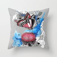 Throw Pillows by Carographic, Carolyn Mielke Illustration | Society6