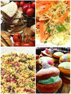 More super salads and Easter Whoopie pies! Yummy!