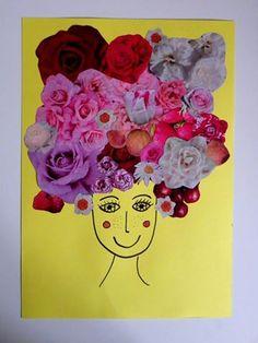 Jade (3 ans) et sa maman ont créé cette jolie tête DADA terrible! Blog: Les étoiles de Pluie http://plume-echevelee.over-blog.com/2015/10/collage-automne-cerf.html  Jade (3 roky) se svou maminkou vytvorila tuto krasnou blaznivou hlavu! Blog: Les étoiles de Pluie http://plume-echevelee.over-blog.com/2015/10/collage-automne-cerf.html