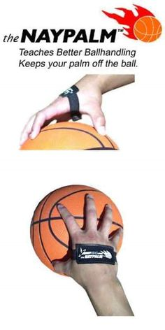 Training Aids 64642: Naypalm Basketball Palm Button Dribbling Shooting Aid - Set Of 2 BUY IT NOW ONLY: $32.58