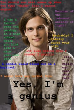 SPENCER REID QUOTES by Scathach24 on deviantART