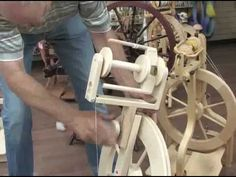 This video goes over setting up the Jumbo Flyer on the Lendrum Spinning wheel. Hosted by the strangely charming Spinning Wheel guru Bill Romine you'll find lots of helpful tips on fine tuning your Jumbo Flyer setup some of which will apply to the standard setup. Lots of good Lendrum info here to be sure. Let us know if you'd like to see other ti...