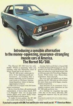 AMC Hornet SC/360 ad
