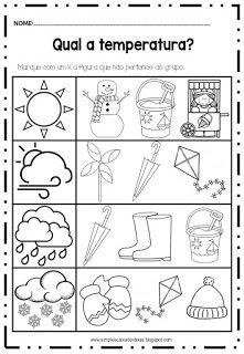 Simples Caixa de Ideias: Atividades sobre as estações do tempo Free Preschool, Preschool Worksheets, Art For Kids, Crafts For Kids, English Reading, School Pictures, Pre School, Gender Reveal, Homeschool