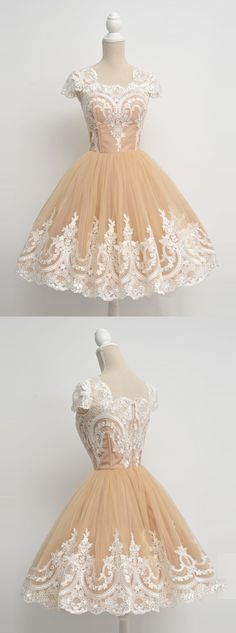 vintage short homecoming dress with white lace, short vintage prom dress homecoming dress party dress