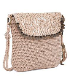 The Sak Alabaster Sequin Kearny Crossbody Bag | zulily