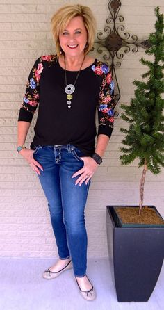 50 IS NOT OLD   FLORAL SLEEVES FOR SPRING
