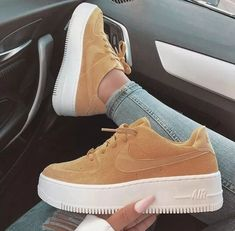 outfits women nike 51 the best beautiful sneakers for women 2019 try it you will like 20 Mens Fashion Shoes, Sneakers Fashion, Shoes Sneakers, Nike Women Sneakers, Cute Sneakers For Women, Women's Shoes, Air Force Sneakers, Shoes Style, Nike Air Force