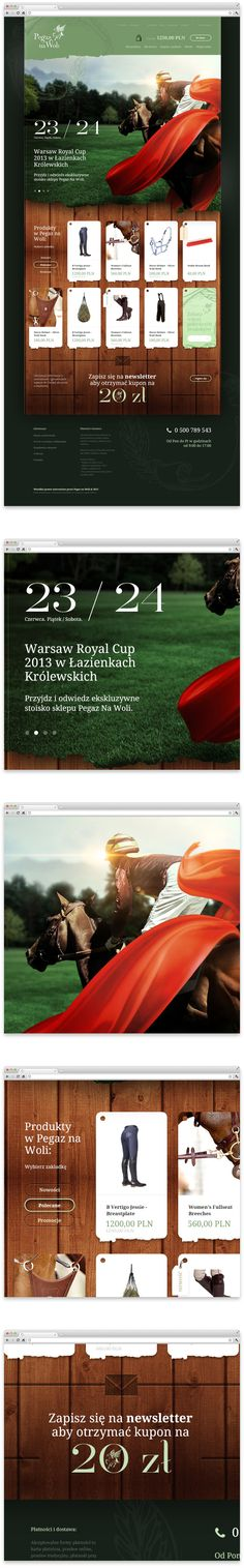 Pegaz na Woli on Web Design Served Modern Web Design, Custom Web Design, Web Ui Design, Site Design, Website Layout, Web Layout, Layout Design, Wordpress, Apps