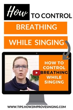 In this video, learn how to control breathing while singing! Discover natural breathing and apply it to singing.