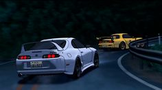Initial D Car, Jdm Wallpaper, Great Poems, Drifting Cars, Rx7, Japan Cars, Animation Reference, Modified Cars, Jdm Cars