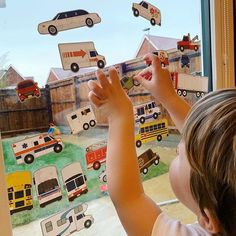 ☔ A perfect rainy day activity ☔ Did you know our Reusable Stickers work on windows too? Have kids tell a story using the stickers, or re-arrange them and make up silly scenes! #CountlessWaystoPlay   #PowerofPlay #MelissaandDoug #kidsactivitiesathome #rainydayactivities#stickerart #resuablestickers #parentinghacks #toddleractivities Fun Rainy Day Activities, Kids Activities At Home, Educational Activities, Parenting Hacks, Windows, Stickers, Creative, Window, Sticker