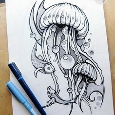 This design is dope #jellyfish