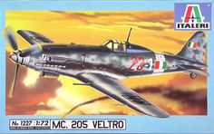 Out of print! Italeri 1/72 Macchi Mc.205 Veltro # 1227