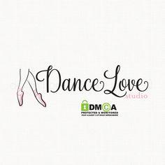 premade ballet dance studio logo design by stylemesweetdesign