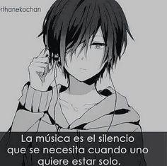 la musica è il silenzio che è necessario quando si vuole essere soli
