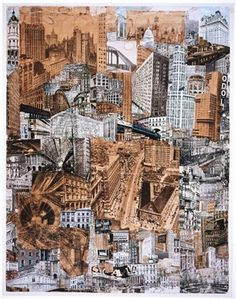 This collage by Paul Citroen influenced Fritz Lang and the film, Metropolis.Tomorrow sees the opening of the 'Bauhaus - Art as Life' exhibition at the Barbican centre in London, which - along with showing rare, and previously unseen Bauhaus products and images in the UK - offers a presentation of designs ranging from furniture to paintings, and also encompasses film events, talks, and workshops.