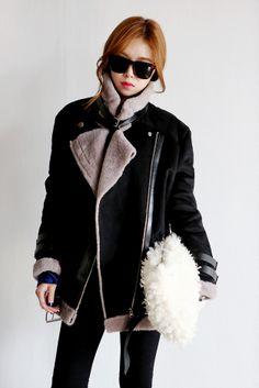 maxi mustang jacket.