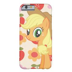 My Little Pony Applejack 2 barely there iPhone 6 case