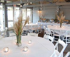 Beautiful Palmetto Dunes beach-inspired wedding decor!