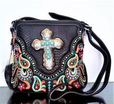 Montana West Handbag Crossbody Spiritual Bag Cowgirl Hipster Purse Pick Color #MontanaWest #MessengerCrossBody