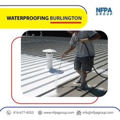 NFPA Construction Group provides Waterproofing in Burlington at affordable prices. Contact us today at Construction Group