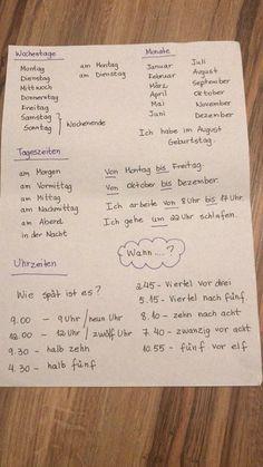 German Grammar, German Words, German Language Learning, English Language Learners, Words In Different Languages, Learning Languages Tips, Study German, Deutsch Language, Germany Language