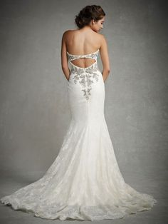 Gorgeous Gowns with Stunning Back Detail from the 2015 Enzoani Collection #weddingdress #brdialwear #2015fashion