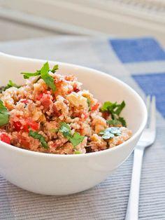 Vegan Mediterranean Quinoa