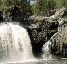 Kap-Kig-iwan Falls, Englehart, Ontario